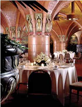 Rathskeller Rookwood Pottery Room at the Seelbach Hilton Hotel of Louisville